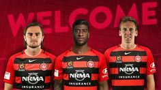 The NRMA Insurance Western Sydney Wanderers are pleased to announce the signings of Roly Bonevacia, (Phoenix) Josh Risdon (Glory) and Michael Thwaite (China). Wander, Phoenix, Westerns, Sydney, Singing, Soccer, China, Football, Futbol