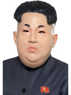 Men's Dictator Kim Jong-Un Overhead Mask Fancy Dress Fun North Korea Power Man Fancy Dress Accessories, Party Accessories, Halloween Fancy Dress, Halloween Kostüm, Halloween Costume Accessories, Mask Shop, Christmas Costumes, North Korea, Adult Costumes