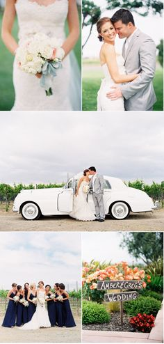 I want an old fashion car at our wedding!