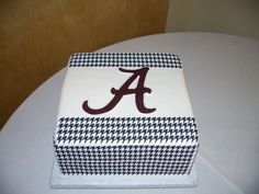 Simple Bama cake by SweetVictoria on Cake Central using image sheets #cake #Bama