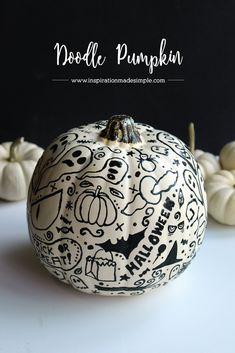 Halloween Doodle Pum
