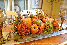 Fall is in the air here in Arkansas! It's getting cooler outside and the beautiful fall colors are filling up my house. Oh how I love this ...