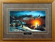 the sharing season by terry redlin duck mallard framed encore print
