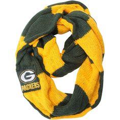 Green Bay Packers Women's Colorblock Infinity Scarf Green Bay Football, Green Bay Packers Fans, Nfl Green Bay, Packers Gear, Greenbay Packers, Green Bay Packers Merchandise, Go Pack Go, Football Outfits, Fan Gear