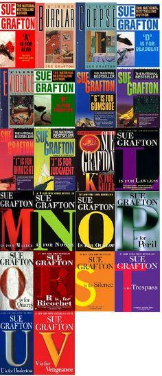 Sue Grafton - Kinsey Milhone series