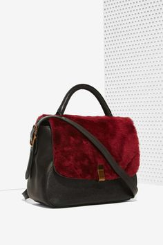 IlllBeCa D'Orsay Shearling Bag - Accessories | Bags + Backpacks