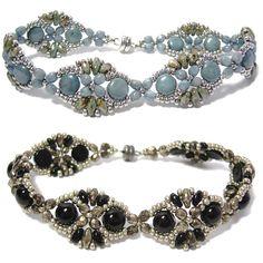Babette Bracelet at AroundTheBeadingTable.com