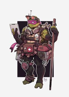 Alex Redfish - TMNT Donatello