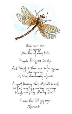 8x10 Print: Afterwards. Totem DragonflyIdeas DragonflyDragonfly SymbolismMagical  ...