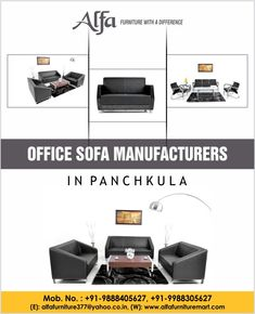 Are You Looking For The Best Office Sofa Manufacturer In Panchkula? Do You  Want The