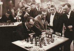 Alexander Alekhine.