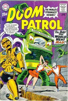The Doom Patrol 96 silver age DC comics