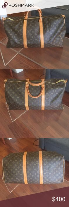 Keepall 50 Beautiful Keepall 50. Authentic. No key no lock. No holes or rips, clean inside Louis Vuitton Bags