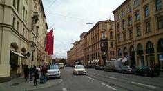 Maximilianstrasse, Múnich Alemania