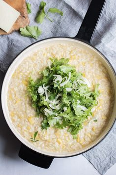 Creamy Lemon Risotto with Summer Squash and a Salad on Top. A Quick, Easy, and Healthy recipe. #glutenfree #risotto #lemonrisotto #easyrisotto Lemon Risotto Recipes, Citrus Recipes, Lemon Pasta, Easy Salads, Healthy Salad Recipes, Vegetarian Recipes, Healthy Spring Recipes, Super Healthy Recipes, Real Food Recipes