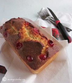 Old-fashioned Cherry Loaf Cake