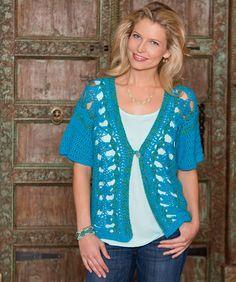 Hairpin Lace Vest - free crochet pattern ♡ Teresa Restegui http://www.pinterest.com/teretegui/ ♡