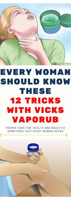 Proper care for health and beautyis something that every woman needs, but this does not necessarily mean that she has to spend a small fortune on personal care products. Vicks VapoRub, a popular remedy used by many of you in the case of colds, coughs, and such health issues, can, in fact, be a versatile […]