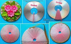 Ozdoba zo starého CD