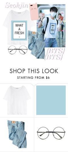 """""""//BTS// Seokjin♡ (+ Taglist & Audions Open!)"""" by vocaloid523 ❤ liked on Polyvore featuring Acne Studios, Dickies, Retrò, Kate Spade, women's clothing, women's fashion, women, female, woman and misses"""