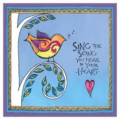 This little bird was Joanne Fink's very first colorized Zenspirations design.