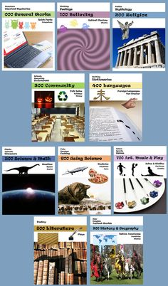 Dewey Decimal Posters for Librarians and Teachers -- Get 'em here