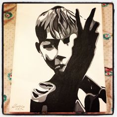 My kes painting #kes #Yorkshire #art