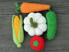 So tun Spiel häkeln Gemüse 5 Pcs Spielzeug von HomeToysByGalatova
