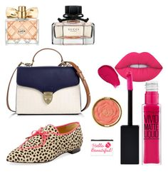 """""""Daily Make Up"""" by claraaasita on Polyvore featuring beauty, Lime Crime, Charlotte Olympia, Aspinal of London, Maybelline, Avon and Milani"""