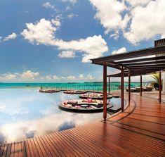Floating zen dens! Yay! W Retreat and Residences, Koh Samui, Thailand | Maps Design.