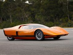 Holden Hurricane Concept - Front Angle, 1969