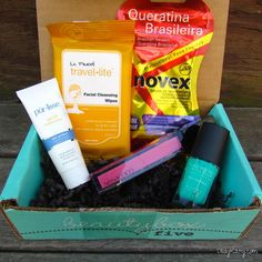 August's Beauty Box 5 {Review on DailyKaty.com}