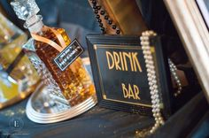Gatsby Décoration Event Gatsby Wedding Gatsby Soirée Gatsby Mariage Gatsby Thème Gatsby Les années folles Drink bar