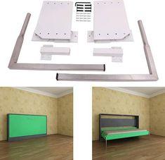 DIY Murphy Wall Bed Springs Mechanism Hardware Kit Horizontal