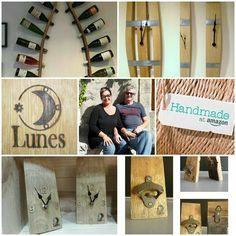 Recycled Art: Happy 1st year anniversary to Lunes on Amazon Handmade Europe! #recycledart #artdelabarrique #winebarrelart #stave #oak #chêne #douelle #artisanart #createur #handmade #amazonhandmade #HandmadeAtAmazon #France #madeinoccitanie  Shop now! http://ift.tt/2ecwgzN http://ift.tt/2jSQd20