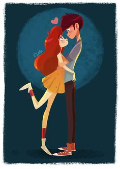 There's art and science in carpentry Couple Illustration, Character Illustration, Illustration Art, Graphic Illustrations, Character Inspiration, Character Art, Character Design, Couple Drawings, I Love You Drawings