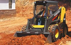 Mc135c Skid Steer Comparison Volvo Construction Equipment Construction Equipment Volvo Construction Vehicles