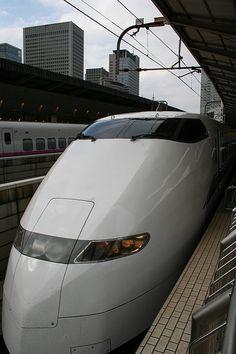 Tokyo Shinkansen 2, 'bullet trains' - more: http://en.wikipedia.org/wiki/Shinkansen