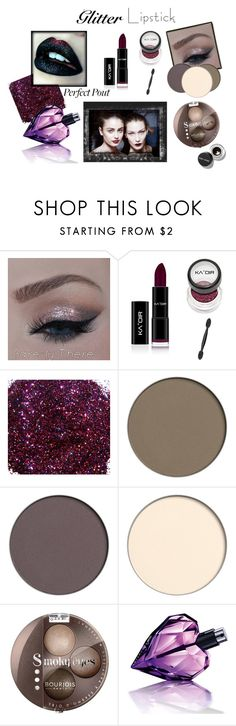 """""""GLITTER LIPS"""" by everythingrosy ❤ liked on Polyvore featuring beauty, Pat McGrath, Bourjois, Diesel, Bobbi Brown Cosmetics, red, makeup, glitterlips and Nudeeyes"""