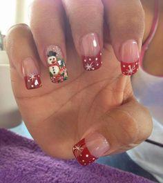 Trendy fails art tutorial for kids 43 Ideas Xmas Nail Designs, Cool Nail Designs, Holiday Nail Art, Christmas Nail Art, Merry Christmas, Fabulous Nails, Gorgeous Nails, Cute Nails, Pretty Nails