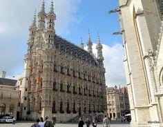 Hôtel de ville de Louvain, Belgium