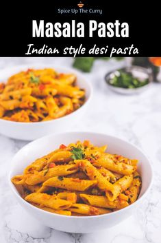 This easy Masala Pasta comes together in about 30 minutes and is the perfect weeknight dinner! This Indian style desi pa Curry Recipes, Veggie Recipes, Lunch Recipes, Vegetarian Recipes, Dinner Recipes, Cooking Recipes, Healthy Recipes, Dried Vegetables, Different Vegetables