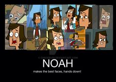 Just LOL, this guy is amazing, with all of those funny faces XD total drama fresh tv (c) Noah and his many faces Drama Funny, Drama Memes, Funny Cute, Hilarious, O Drama, Cartoon Network Shows, Total Drama Island, Best Cartoons Ever, Fictional World