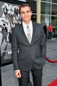 Dave Franco at the Now You See Me premiere! He's so fine and it was such an incredible movie!