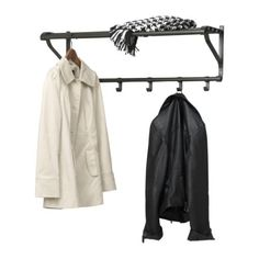 Portis Hat Rack, Black