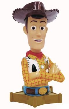 "Disney Toy Story 3 Bust Bank - Woody by Disney. $14.11. The attention to details is impeccable. Toy Story 3 Banks feature Andy's favorite toys - Buzz Lightyear and Woody the cowboy - functional as bank and make great desk accessories too. Functional bank features coin slot on back and removable cap lock on bottom. Conveniently sized at approximately 7"" tall, you can place the Toy Story 3 banks anywhere: desks, book shelves and etc. Made of roto plastic, the bank will ..."