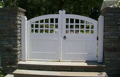 Gate by Maplestone Construction in Winston-Salem, NC.