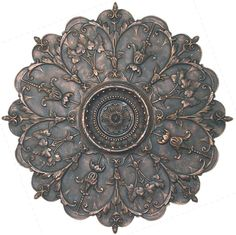 8 Point Medallion Wall Plaque in Antique Bronze at The Garden Gates Entry Wall, Front Entry, Wall Art Prints, Framed Prints, Tuscan Decorating, Ceiling Medallions, White Home Decor, Beautiful Gifts, Wall Plaques