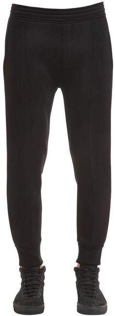 Neoprene Jersey Sweatpants Super Skinny, Skinny Fit, Mens Athletic Pants, Neil Barrett, Black Jeans, Sweatpants, Fashion, Moda, Skinny