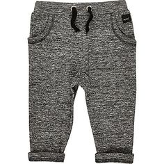 Soft marl jersey Relaxed fit Faux drawstring waist Two side pockets Turn-up hems Toddler Boy Fashion, Little Boy Fashion, Toddler Boys, Baby Kids, Baby Boy Outfits, Kids Outfits, Little Man Style, Shorts Nike, Boys Joggers